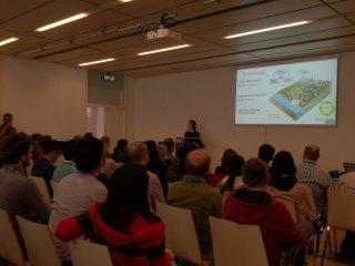 Anne Van Loon presenting